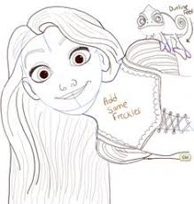 today we are going to show you how to draw rapunzel from disney u0027s