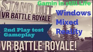 pubg vr pubg vr almost stand out vr battle royal 2nd playtest windows