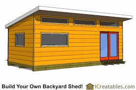 backyard shed blueprints x modern studio shed plans end door company outdoor house unique