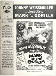 Nyobi by Jungle Jim In Mark Of The Gorilla 1950 Pressbook From Zombos
