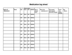 blank medication administration record template fitness planners