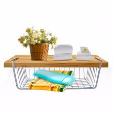 Wire Baskets For Kitchen Cabinets Compare Prices On Under Cabinet Basket Storage Online Shopping