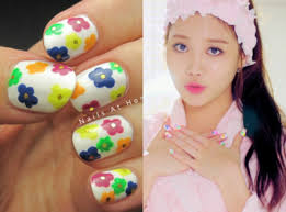 fan friday k pop nails with lisa from nails at home soompi