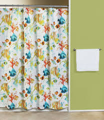 Fish Curtains Rainbow Fish Fabric Shower Curtain Curtain Bath Outlet