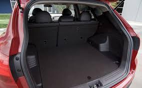 hyundai tucson trunk space 2010 hyundai tucson drive and review motor trend