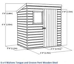Shiplap Sheds 6 X 4 Wooden Sheds 6x4 6x4 Shed Republic Shiplap Security Shed My 6x4