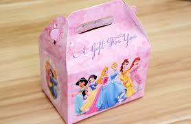 Birthday Favor Boxes by Disney Princess Birthday Favor Boxes Birthday Wikii