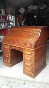 bureau americain cylindre bureaux meubles décoration du xixe antiquités picclick fr