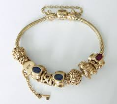 gold bracelet with charms images Pandora gold bracelet centerpieces bracelet ideas jpeg