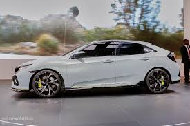 honda civic coupe 2017 2017 honda civic hatchback previewed by concept in geneva