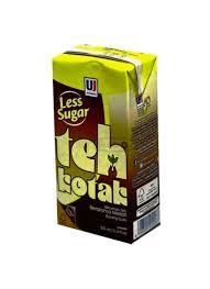 Teh Kotak ultra teh kotak less sugar tpk 300ml klikindomaret