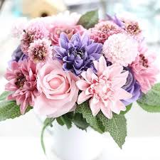 artificial flowers top 20 best artificial wedding centerpieces bouquets heavy