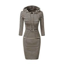 Black And White Striped Bodycon Dress Best 25 Black And White Bodycon Dresses Ideas On Pinterest