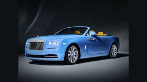 roll royce blue rolls royce dawn gets bespoke one off baby blue paint job