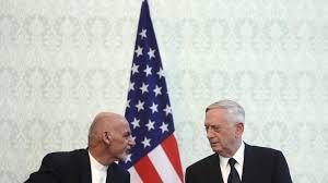 Taliban Flag Taliban Greifen Flugzeug Von Us Verteidigungsminister James Mattis An