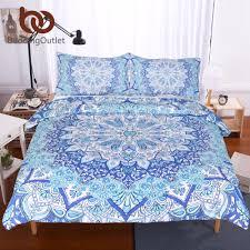 Indian Print Duvet Bedroom Hippie Duvet Covers Mandala Duvet India Duvet Cover