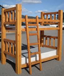 Log Beds Log Bunk Beds Cedar Log Beds Rustic Log Beds - Timber bunk bed