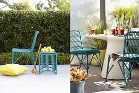 Turquoise Patio Chairs Turquoise Patio Furniture And It S On Sale Tended