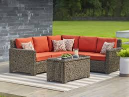 Outdoor Wicker Patio Furniture Sets Patio Furniture The Home Depot