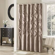 Chocolate Brown Shower Curtain Shower Curtains Birch Lane