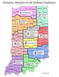 Ohio Congressional District Map by Indiana Umc United Methodist Women