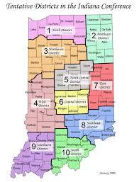State Of Indiana Map by Indiana Umc United Methodist Women