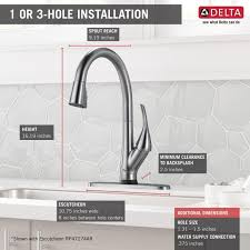 9181tardst in arctic stainless by delta faucet company in atlanta