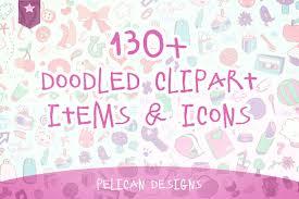 130 best 3d doodles images cute doodle clip art pack graphics creative market