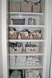 bathroom closet storage ideas free linen closet shelves about cool linen closet shelving ideas