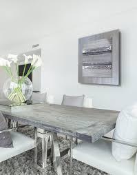 dining room artwork contemporary square silver grey ii silver wall art contemporary