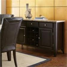 home styles server sideboard with wine rack