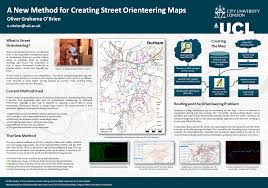 masters dissertation posters 2017 a method for creating orienteering maps rural