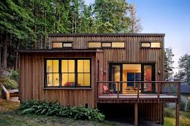 Modern Small Home A Cottage In The Redwoods By Cathy Schwabe Small House Bliss