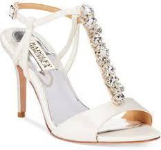 Wedding Shoes Macys Badgley Mischka Clark Two Piece Evening Sandals Evening U0026 Bridal