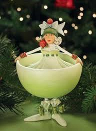 xmas krinkles u0027marguerite margarita u0027 ornament patience brewster