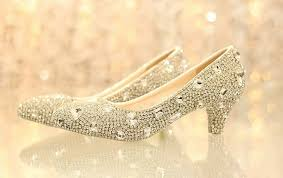 rhinestone wedding shoes comfortable bling low heel rhinestone bridal wedding shoes