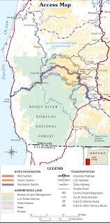 Map Of Oregon And Washington by Part Ii Wild And Scenic Rivers Act In Oregon And Washington Wet
