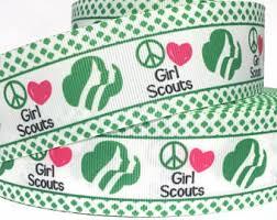 girl scout ribbon girl scout ribbon etsy