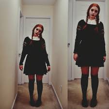 black sweater with white collar kiersten legasse outfitters white collar shirt