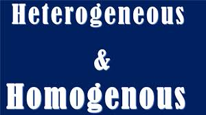 difference between heterogeneous and homogenous heterogeneous vs