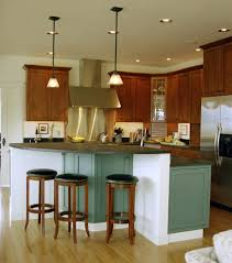 round kitchen islands beach style with new england metal hanging