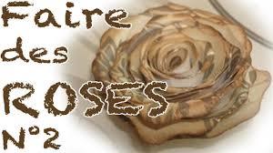 serviette en papier vintage comment faire des roses en papier partie 2 youtube