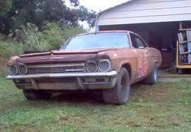 Barn Finds Cars 1965 Chevrolet Impala Nascar Race Car Barn Barn Finds