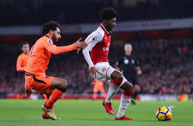 Flagging Liverpool Arsenal Vs Liverpool Ainsley Maitland Niles Is Wonderfully Ratty