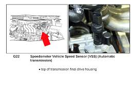 2000 vw jetta the speed sensor