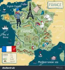 English Channel Map Cartoon Map France Stock Illustration 541723387 Shutterstock