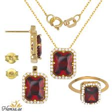 real crystals necklace images Gst383 real gold swarovski crystals jewellery set necklace ring jpg