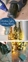 Diy Christmas Lights by How To Put Christmas Lights In A Wine Bottle Bottle Display