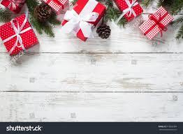 christmas gift box christmas presents red stock photo 519826399