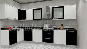 Kitchen Design Black And White Modular Kitchen Designs Enlimited Interiors Hyderabad Top